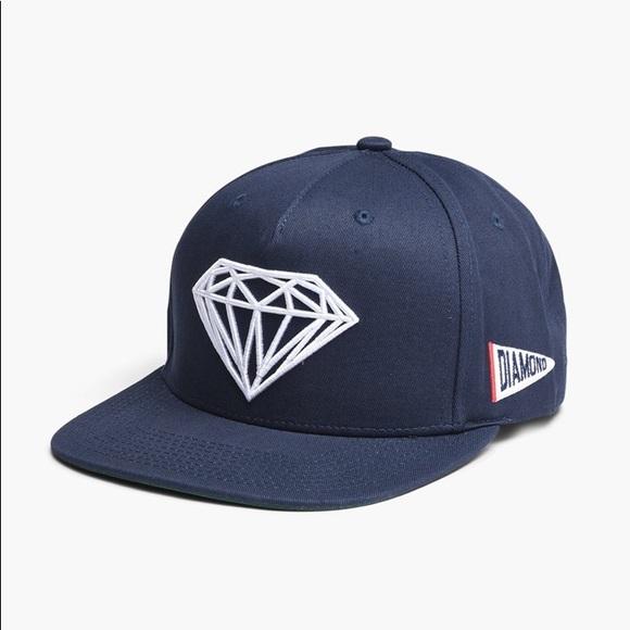 76a573544a0d01 Diamond Supply Co. Accessories | Navy Green Diamond Supply Co ...